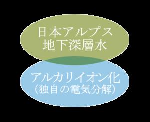 アルピジョンウォーターは、日本アルプス地下深層水を独自の電気分解技術によりアルカリイオン化した高機能アルカリ還元水です。 長い時間かけて濾過される日本アルプスの雪解水を地下200メートルから汲み上げた適度なミネラルを含む地下深層水を使用。 肌と髪に潤いを与え基礎力を高めるとともに、みずみずしく健やかな状態を保ちます。